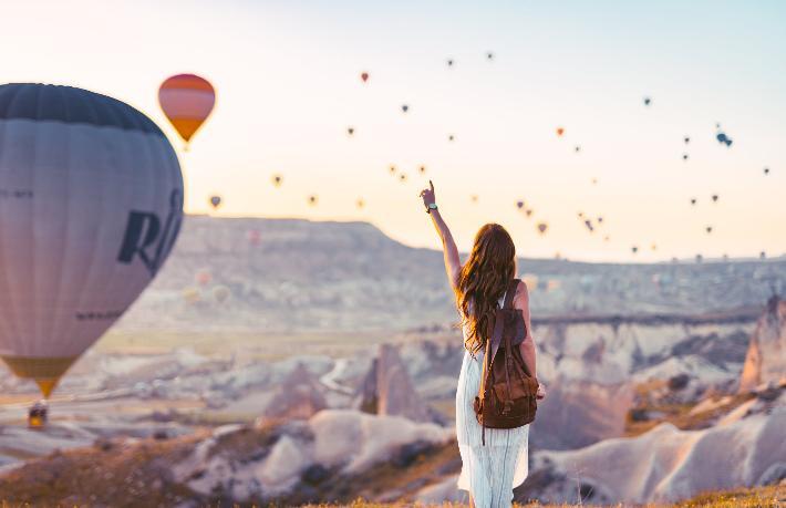 Kapadokya'da Balonların uçuşu 1 Ekim'e uzatıldı