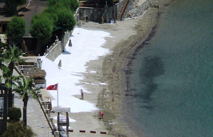 Bodrum'u karıştıran beyaz kum raporu çıktı