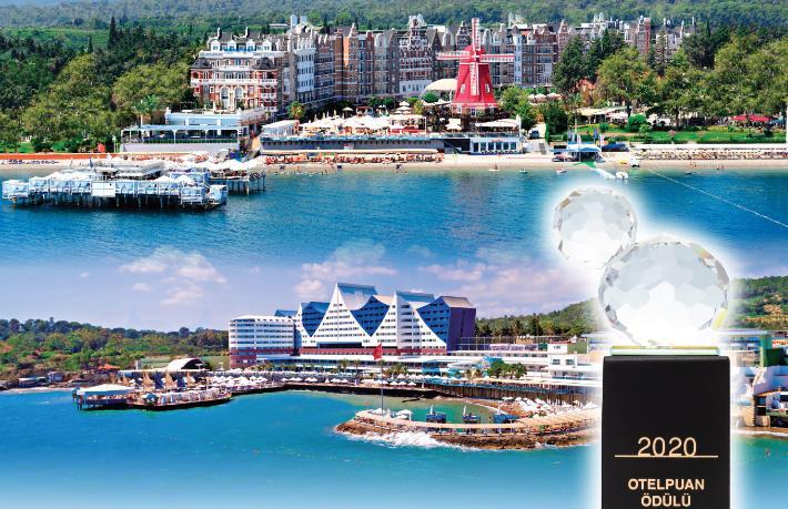 Orange County'nin 3 oteli Türkiye'nin en beğenilen otelleri arasında