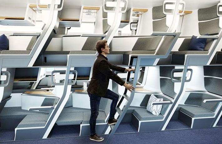 İki katlı uçak yolculuğu geliyor