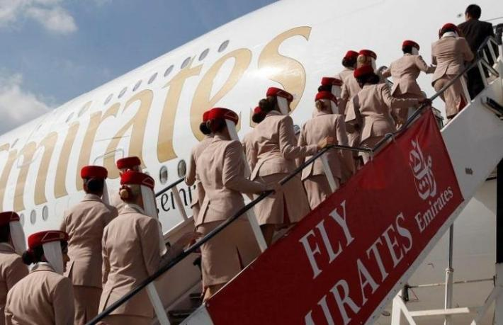Emirates'ten 'Yok artık' dedirten promosyon... Bir toprak atmadığı kaldı