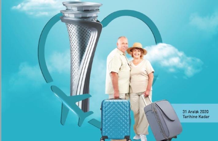 İstanbul Havalimanı'ndan 65 yaş üstü yolculara ayrıcalıklı hizmet