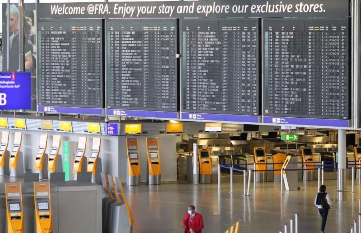 Almanya'da pozitif çıkan yolcular risksiz ülkelerden gelenler