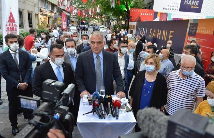 İstanbul'un parlayan yıldızı Talimhane sahneye çıkıyor
