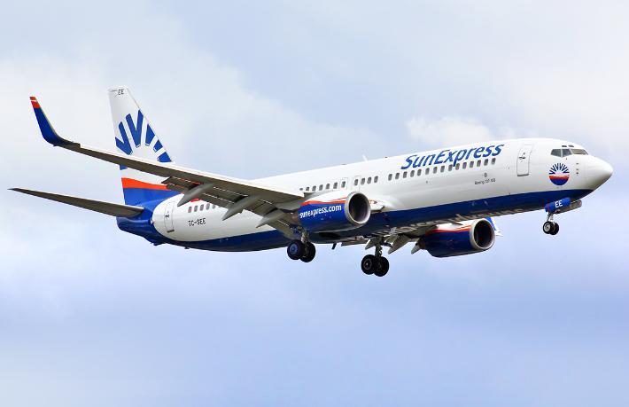 SunExpress tatil beldelerine uçuşlarını arttırdı