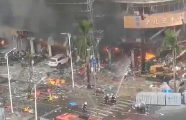 Ortalık savaş alanına döndü... Otelde doğalgaz patlaması