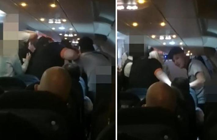 Londra-Antalya uçağındaırkçılık kavgası