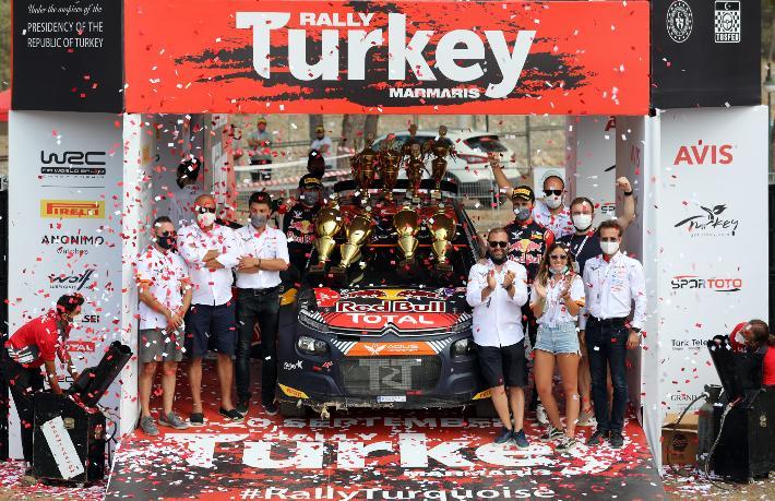 Türkiye Ralli Şampiyonası Marmaris'te start aldı