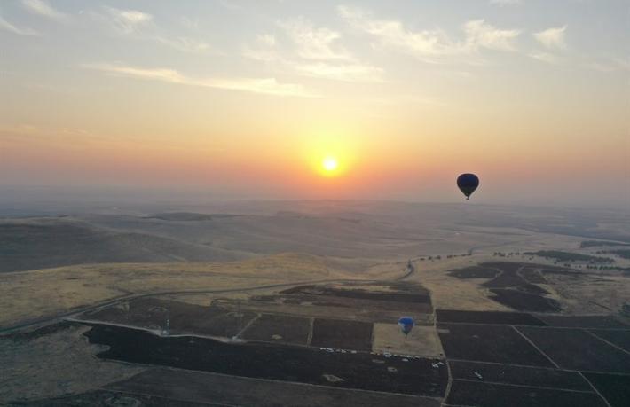 'Tarihin Sıfır Noktası'nda balon turizmi başlıyor