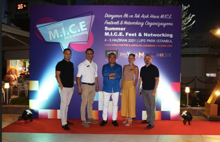Summer M.I.C.E. Fest & Networking'in Antalya lansmanı yapıldı