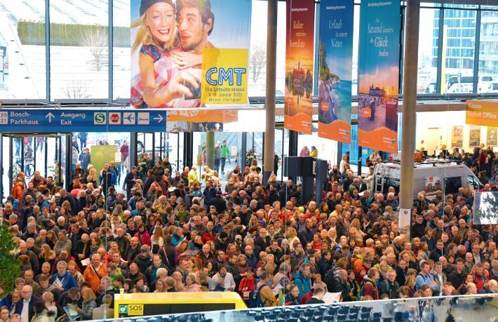 Bir iptal haberi daha... Stuttgart turizm fuarı CMT 2021 de iptal edildi