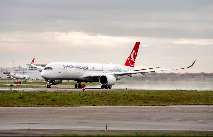 THY Airbus A350 XWB siparişini teslim aldı