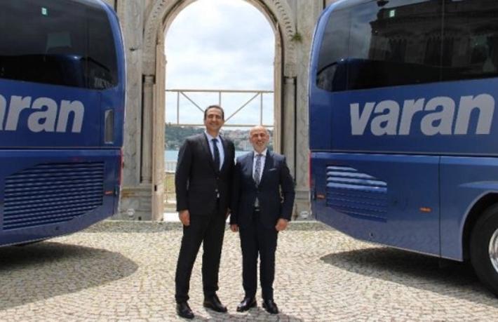 El değiştiren Varan, 100 otobüsle yola çıktı