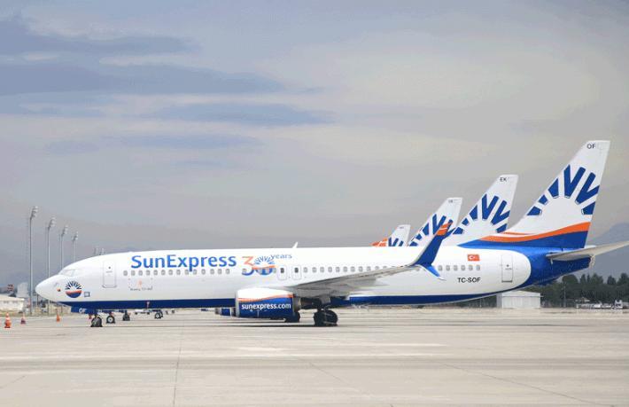 SunExpress ve Lufthansa'dan ortak uçuş anlaşması