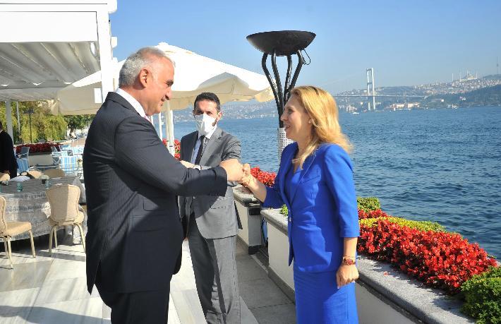 Bulgaristan Turizm Bakanı Türkiye'nin güvenli turizm uygulamalarını inceledi