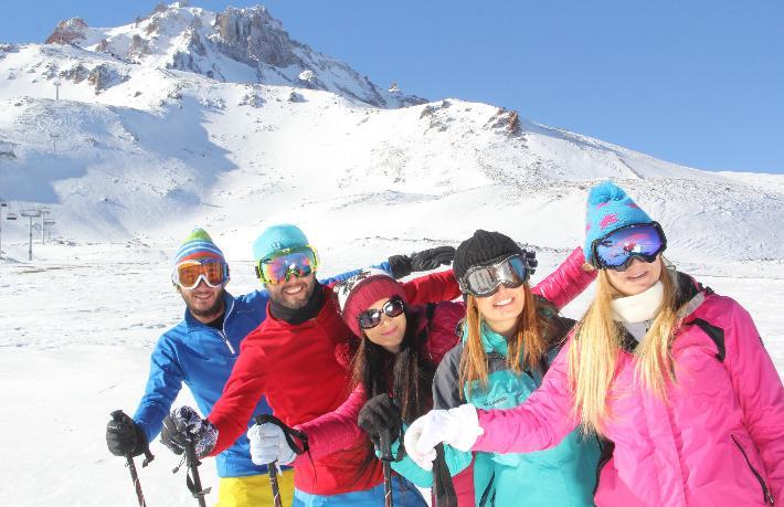 Avrupa'da kayak merkezleri açılmayınca, rota Türkiye'ye yöneldi