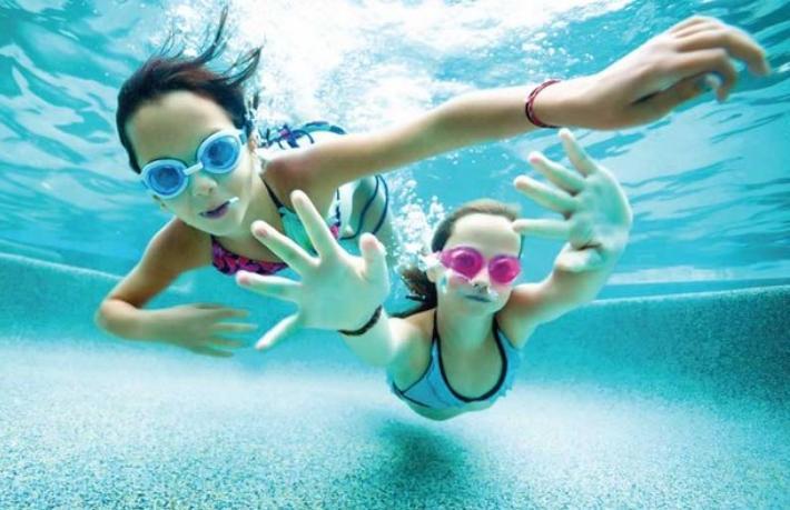 Turizmcilerden yüzme projesine büyük destek
