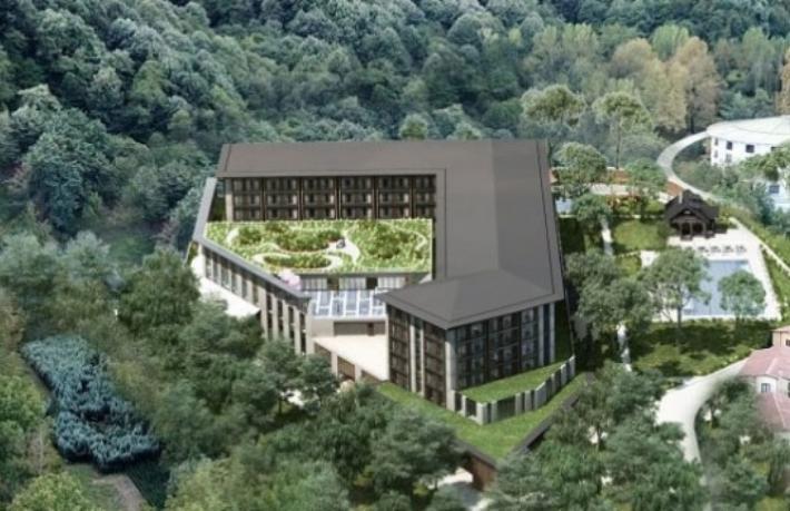 450 Milyon TL'lik yeni otelini açtı