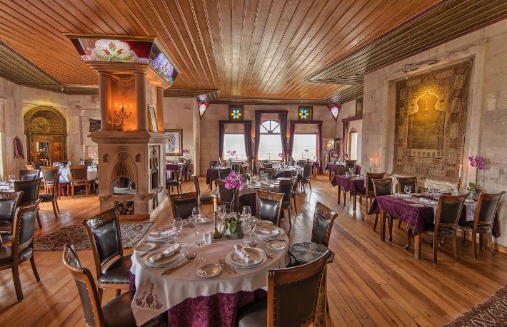En lüks otel restoranı ödülü Kapadokya'ya gitti