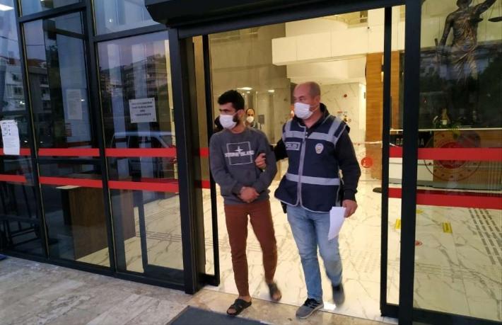 Otel hırsızları yakalandı