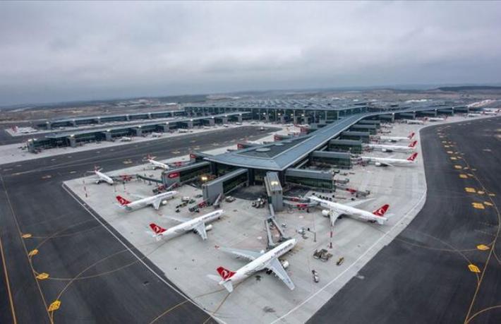 İstanbul Havalimanı 500'e yakın uçuş gerçekleştirdi