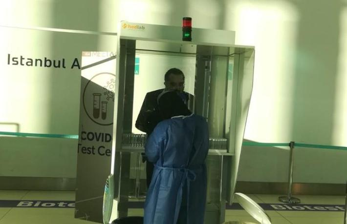 İstanbul Havalimanı'nda Covid-19 testinden rant iddiası