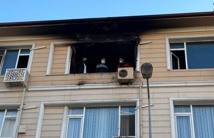 Otel yangında ölen misafirin cesedi 8,5 saat sonra fark edildi