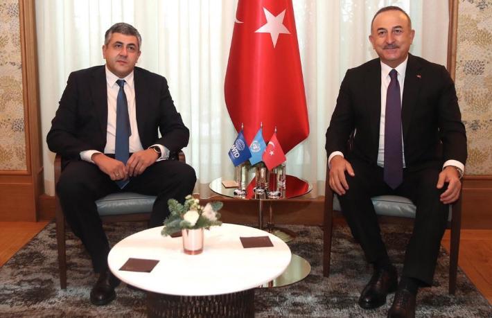 Bakan Çavuşoğlu UNWTO'ya 'Güvenli Turizm Programı'nı anlattı