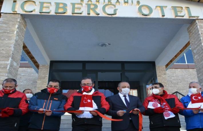 Sarıkamış Iceberk Hotel'i Bakanlar hizmete açtı