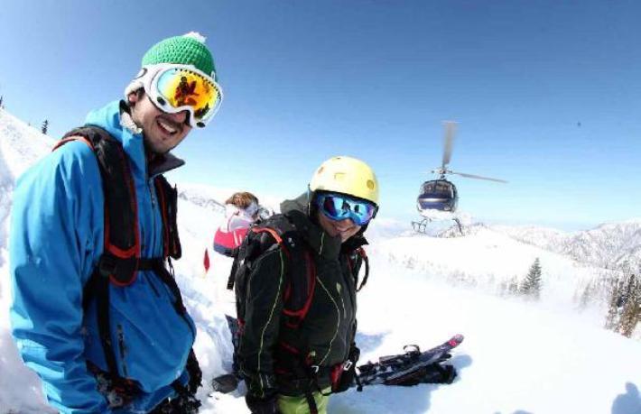 Avrupalı ilk kayakçı kafilesi Türkiye'de