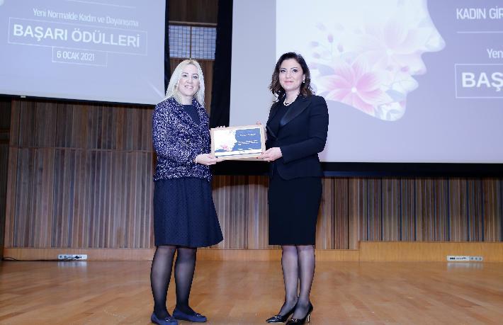 Banu Dedeman'a girişimci ödülü