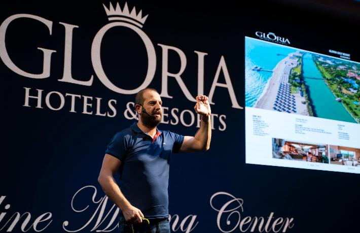 Gloria Hotels'ten, Online Meeting Center