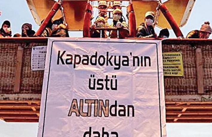 Halk tepkili, ilk dava da açıldı... Kapadokya altın tehdidiyle karşı karşıya