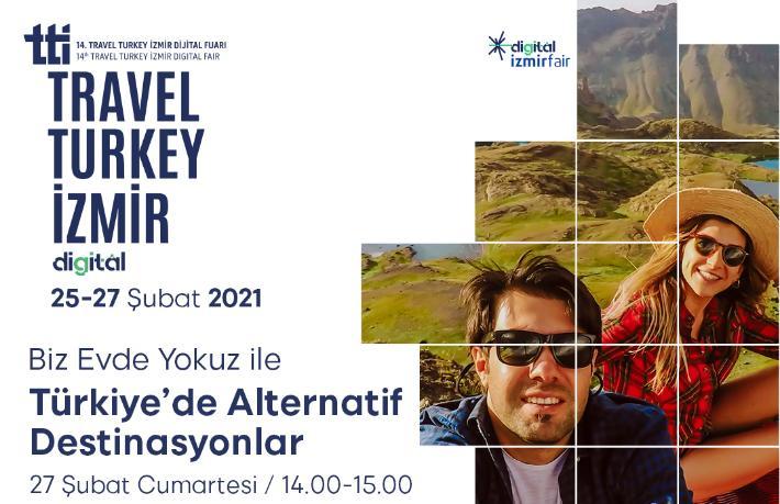 Alternatif turizm trendleri, Travel Turkey İzmir Dijital Fuarı'nda