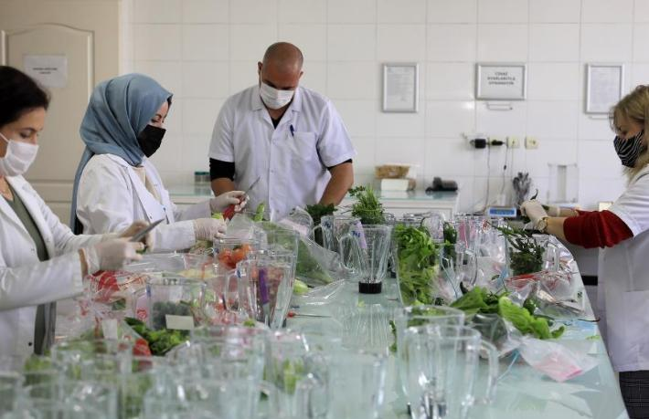 Turistlerin tükettiği gıdalar laboratuvar kontrolünde