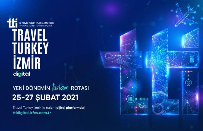 Travel Turkey İzmir Dijital Fuarı'na geri sayım başladı