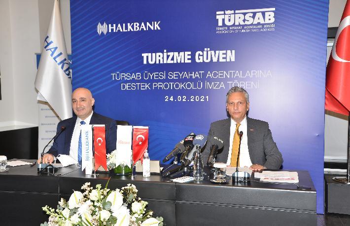TÜRSAB - Halkbank anlaşması: Acentelere 100 Bin TL Kredi