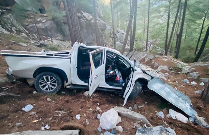 Alanya'da kaza:2'si turist 5 ağır yaralı
