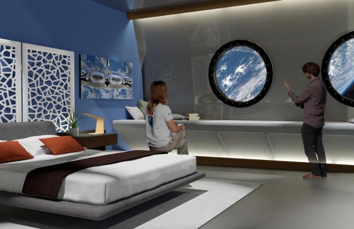 Uzaydaki ilk otel açılıyor