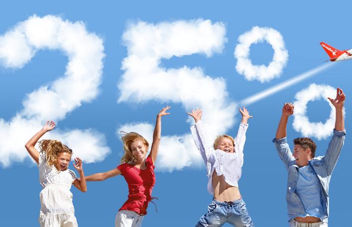 Corendon Airlines'tan çocuklu ailelere özel yüzde 25 indirim