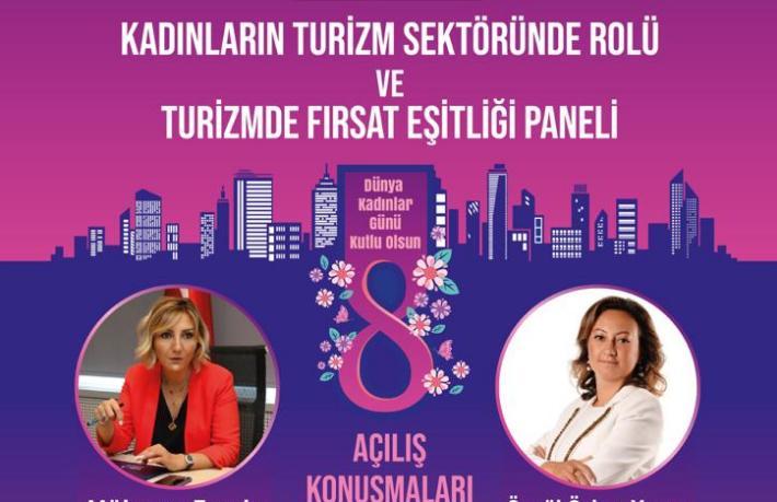 TÜROB'tan 8 Mart Dünya Kadınlar Günü paneli
