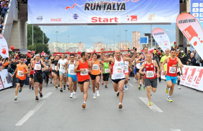 Runatolia Maratonu 7 Mart'ta Antalya'da koşulacak