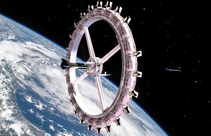 İlk uzay otelinde 3 günlük konaklama ücreti dudak uçuklatıyor