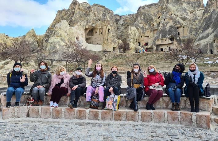 Yabancı gazetecilere Kapadokya ve İstanbul tanıtıldı