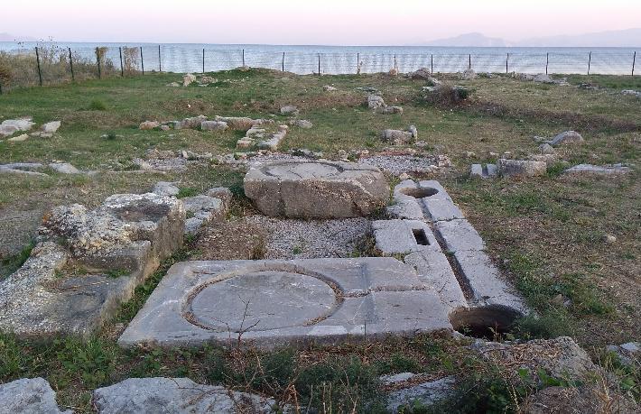 Datça'da Knidosluların ilk yerleşim yeri… Burgaz Ören Yeri