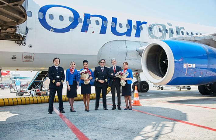 Onur Air'de personelin tamamı ücretsiz izne çıkarıldı
