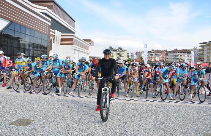 Manavgat Dağ Bisikleti Maratonu start alıyor