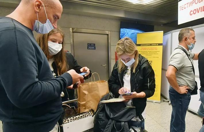 Rus turiste Türkiye'ye girişte 'Mavi mühürlü' PCR şartı
