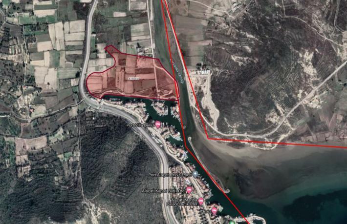 Turizm imarlı arsa 147 Milyon Lira'ya icradan satılık