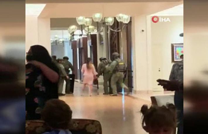 Lüks otele silahlı saldırı